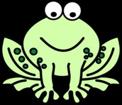 Bullfrog clipart froggy