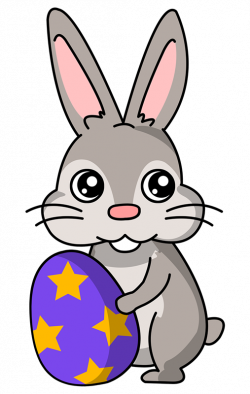 Small clipart easter bunny
