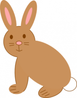 Hare clipart brown rabbit