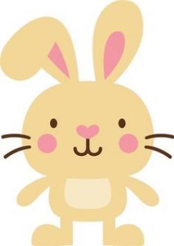 Cuddling clipart cute bunny