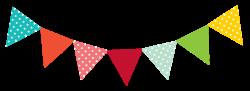 Carneval clipart flag banner