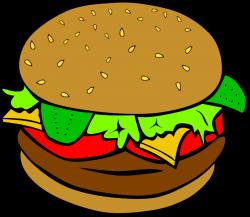 Veggie Burger clipart