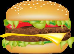 McDonald's clipart bacon cheeseburger