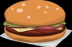 Hamburger clipart hamburger hotdog