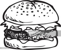 Burger clipart tall