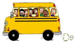 Mini clipart school bus