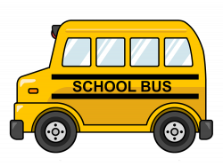 Miniature clipart school bus
