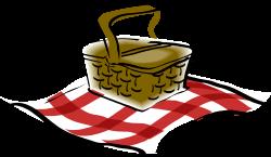 Picnic Basket clipart picnic mat