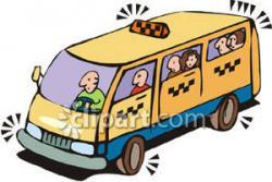 Taxi clipart van
