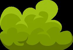 Shrub clipart green bush