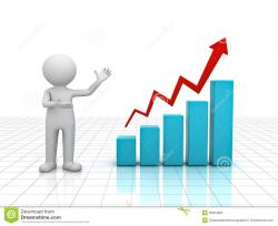 Graph clipart new business