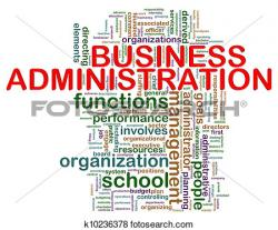 Business clipart business administration