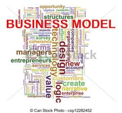 Business clipart business model