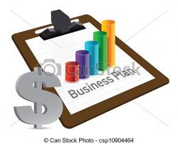 Business clipart business plan