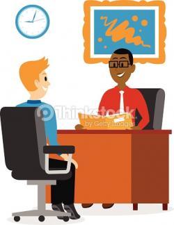 Business clipart job interview