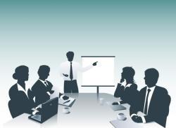 Business clipart presentation