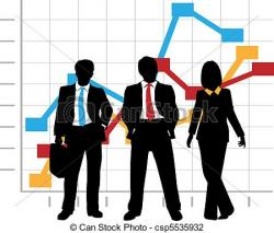 Business clipart sales team