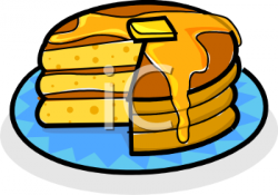 Oatmeal clipart stack pancake