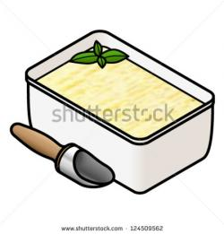 Butter clipart tub