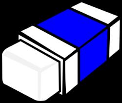 Black clipart eraser
