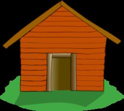 Bungalow clipart cabin