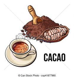 Cacao clipart cocoa powder