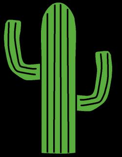 Wild West clipart cactus