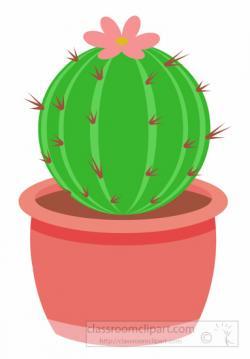 Desert clipart barrel cactus