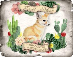 Fennec Fox clipart awesome