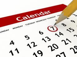 Date clipart daily calendar