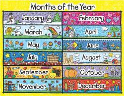 Drawn calendar
