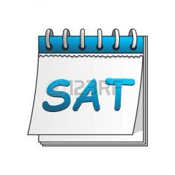 Saturday clipart calendar