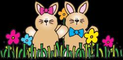 Easter clipart calendar