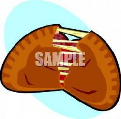 Calzone clipart