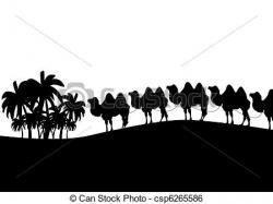 Camels clipart camel caravan