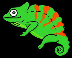 Green Iguana clipart chameleon