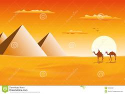 Sahara clipart camel caravan
