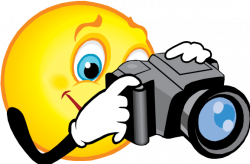 Smileys clipart camera
