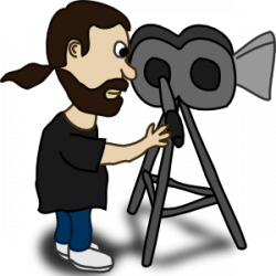 Actor clipart filmmaking