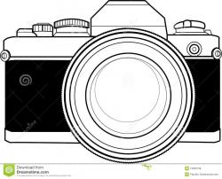 Dslr clipart vintage camera