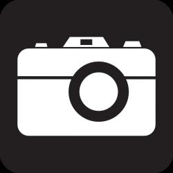 Camera clipart simbol
