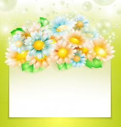 Camomile clipart spring themed