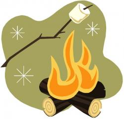 Campire clipart simple