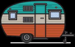 Camper clipart
