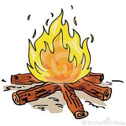 Smoking clipart campfire smoke