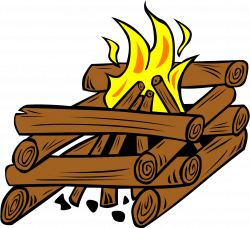 Camp Fire clipart cabin camping