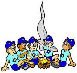 Campire clipart cub scout