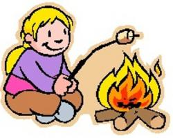 Roast clipart bonfire