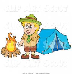 Camp clipart boy scout camp