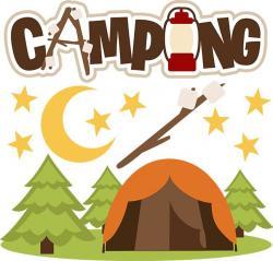Tent clipart campout